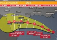 Tropics update: Tropical Storm Watch in effect from Galveston County down to Willacy County