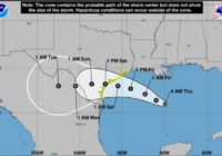 NWS: San Antonio likely to see rain after tropical storm hits Gulf of Mexico