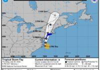 Tropical storm forms off North Carolina coast
