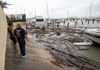 Thousands of Texans remain without power in the aftermath of Hurricane Hanna