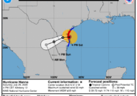Hurricane Hanna downgraded to tropical storm as it pushes through Texas, into Mexico