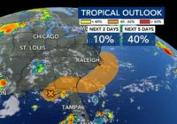 Rain returns, tropical storm could form by weekend
