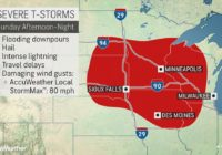 Severe weather to jolt central US through the weekend