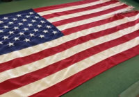 Frying Pan Tower auctioning off American flag to benefit those hit hardest by Hurricane Isaias