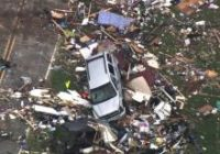 Governor visits as tornado-ravaged town begins recovery effort