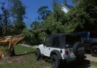 EF1 tornado causes damage after touching down near Belville