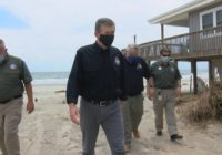 Hurricane rocks coastal Brunswick County town, governor says help is coming