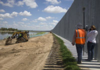 Privately Built Border Wall In Texas Faces Erosion Worsened By Hurricane Hanna
