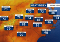 Severe weather possible Thursday, high temperatures possible for rest of week