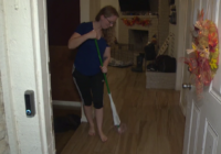 Homeowners in south Houston start cleaning up after Tropical Storm Beta