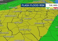 Risk for flash flooding, severe storms this week before cool weather moves in
