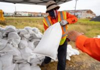 Tropical Storm Beta: City runs out of sand bags
