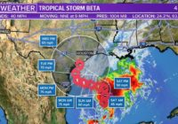 Tropical Storm and Hurricane Watches in effect along Texas coast
