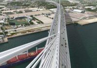 Harbor Bridge Project: Tropical Storm Beta temporarily delays work on U.S. Highway 181