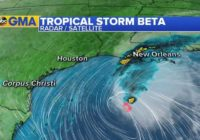 Tropical Storm Beta spurs hurricane watch for Texas, expected to strengthen