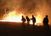 Texas firefighters continue to help battle California wildfires