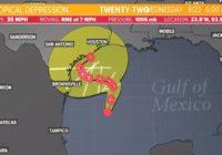 Tracking the Tropics: Tropical Depression 22 becomes Tropical Storm Beta