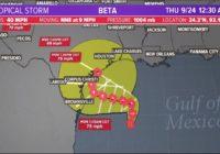 Tracking the Tropics: Tropical Storm Beta expected to bring heavy rain along Texas Coast