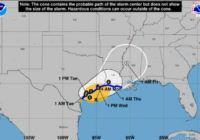 Tropical Storm Beta to bring showers, lower temperatures to San Antonio Monday