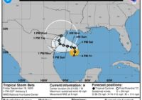 Tropical Storm Beta forms in Gulf of Mexico