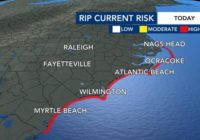 Hurricane Teddy bringing strong rip current risk to NC this week