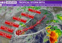 Tropical Storm Beta makes landfall near Port O'Connor, TX