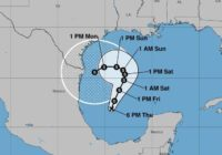 South Texas And Mexico Watch New Tropical Danger Emerging In Gulf
