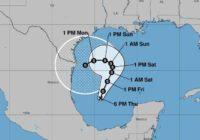 Texas Gulf Coast On Alert As TD 22 Evolves Into Tropical Storm Beta