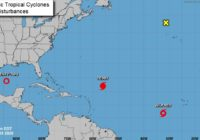Tropical Storm Wilfred forms in the eastern Atlantic; Greek alphabet names next up