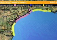 TROPICAL STORM: Tracking Beta as it approaches Texas Coast