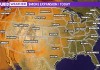 West Coast wildfires bringing smoke to Texas