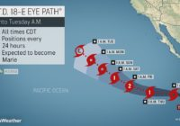 Emerging East Pacific tropical storm to avoid Mexico, Hawaii