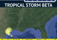Slow-moving tropical storm Beta expected to flood Texas, Louisiana