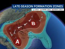 Future hurricanes are expected to form closer to home.