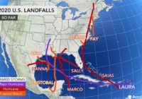 2020 Atlantic hurricane season already second most active in history