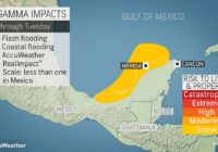 Tropical Storm Gamma turns deadly as it inundates Mexico's Yucatan Peninsula