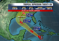 Tropical Storm Delta forms in Caribbean Sea, forecast to strengthen into hurricane before hitting United States