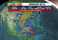 Hurricane Delta becomes dangerous Category 4 storm, expected to slam beach resorts from Tulum to Cozumel