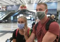 Honeymooners forced to pay $5,000 for flight back to US ahead of Hurricane Delta