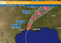 7PM UPDATE: Hurricane Delta now cat 1 storm following landfall in Creole, Louisiana