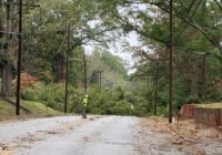 Thousands still without power following fast-moving Tropical Storm Zeta