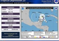 Tropical Depression forms near Gulf of Mexico, could become Tropical Storm Gamma