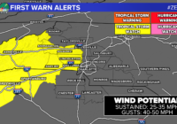 Tropical Storm WARNING issued ahead of Zeta