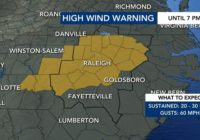 Second round of severe weather possible tonight, bringing wind gusts, isolated tornadoes