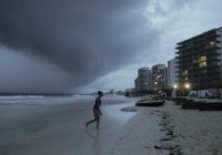 Hurricane Zeta is ashore in resort zone of Mexico's Yucatan
