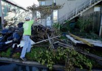In hurricane-ravaged Louisiana, residents dig out, again