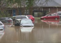 Charlotte charter school evacuated during flooding