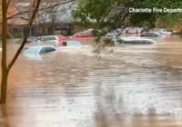 Historic flooding inundates Charlotte