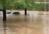 Charlotte flooding hits record levels and still rising