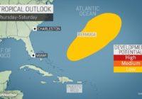 Hurricane season's last gasp? Forecasters tracking tropical disturbance